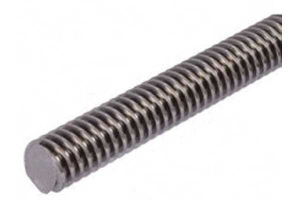 Product image for Steel Lead Screw 10 x 2 Thread X 1m
