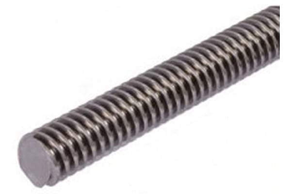 Product image for Steel Lead Screw 12 X 3 Thread X 1m