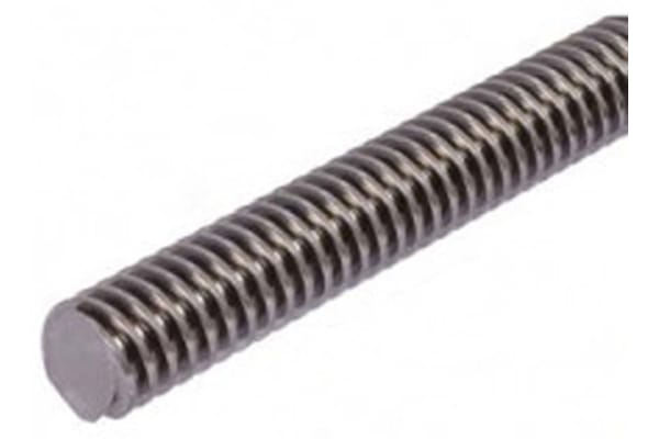 Product image for Steel Lead Screw 16 X 4 Thread X 1m