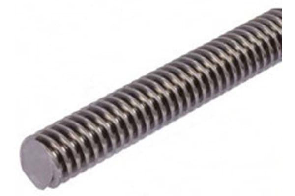 Product image for STAINLESS LEAD SCREW 10 X 2 THREAD X 1M