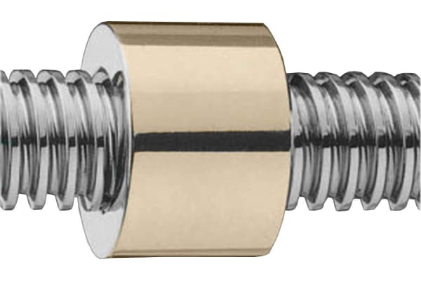 Product image for Round Bronze Nut for 24 X 5 Lead Screw