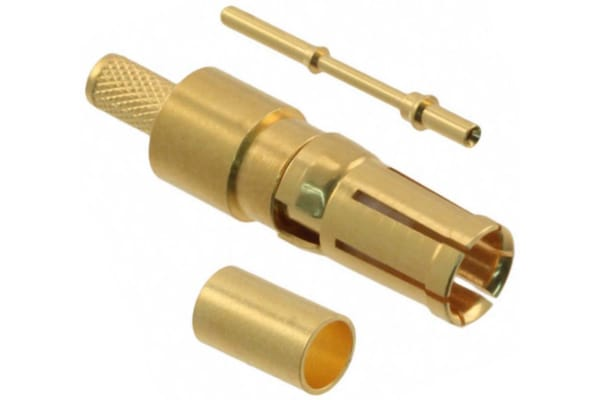 Product image for HARTING, D-Sub Mixed Female Crimp D-Sub Connector Coaxial Contact, Gold Coaxial, 24 AWG, 26 AWG, 28 AWG, 30 AWG, 0969