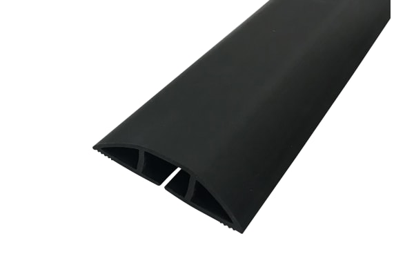 Product image for SOFT WIRING DUCT with adh Tape Black1m