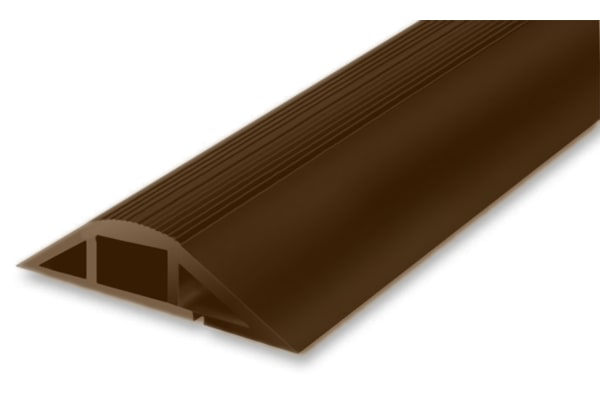 Product image for SOFT WIRING DUCT with adh Tape Brown1m