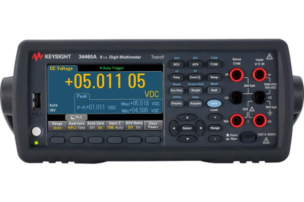 Product image for Keysight Technologies Truevolt 34465A Bench Digital Multimeter