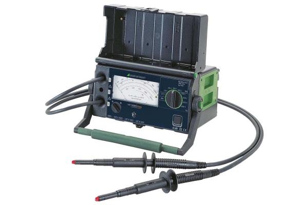 Product image for Gossen Metrawatt METRISO PRIME, Insulation Tester, 5000V, 100GΩ, CAT II 1000V