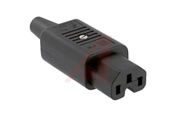 Product image for CORDPLUG;10A; 250 VAC;