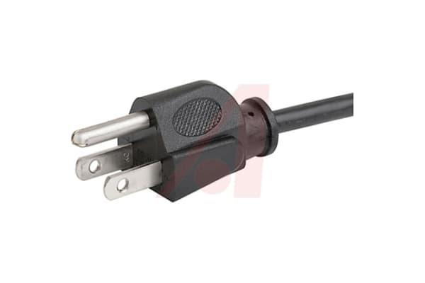 Product image for Cordset3;Plug;10A;125V;