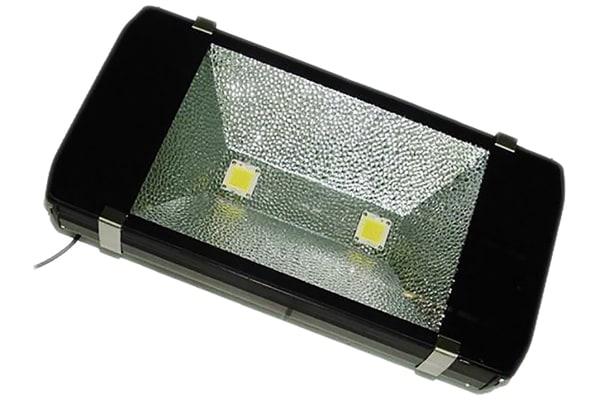 Product image for RS PRO LED Floodlight, 4 LED, 200 W, 16000 → 18000 lm, IP65 85 → 265 V