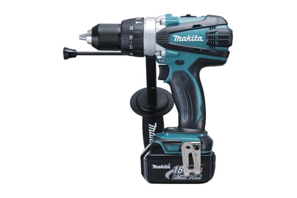 Product image for Makita DHP Keyless 18V Cordless Drill Driver, UK Plug