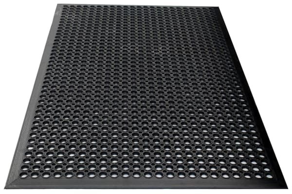 Product image for COBA Rampmat Individual Rubber Anti-Fatigue Mat x 800mm, 1.2m x 10mm