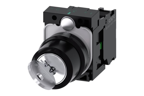 Product image for RONIS KEY-OPERATED SWITCH, 22MM