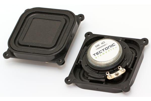 Product image for BALANCED MODE RADIATOR,SQUARE, 5W, 4OHM