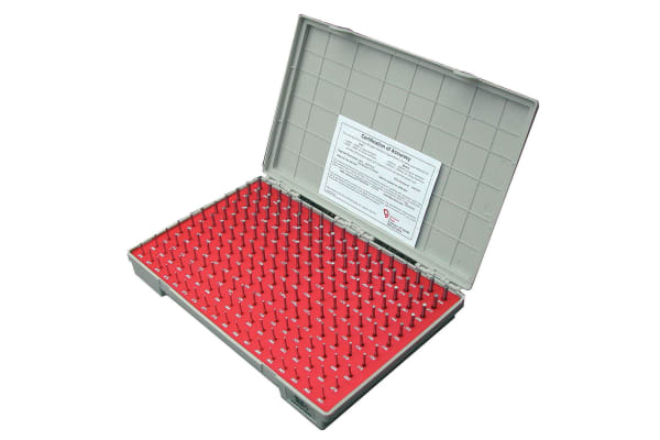 Product image for Pin Gauge Set 1.30-4.98mm