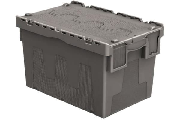 Product image for 67LTR Attached Lid Euro Container