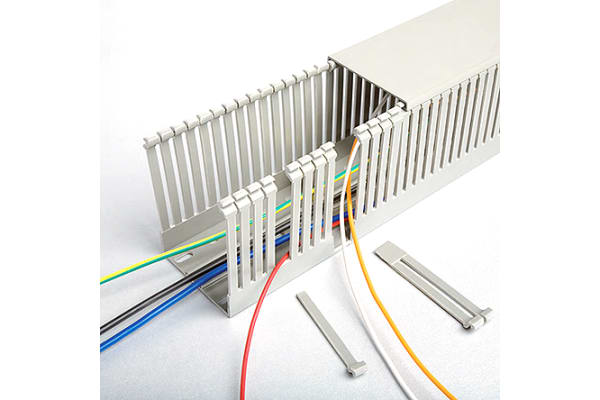 Product image for 40X60 G NARROW SLOT TRUNKING 2M STD PACK