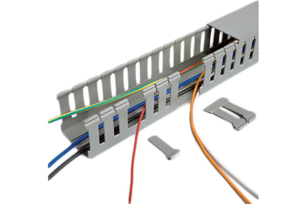 Product image for 40X40 G OPEN SLOT TRUNKING 4X1M PACK