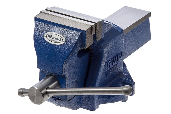 Product image for WORKSHOP VICE W/ANVIL, 1TON, 4/100MM