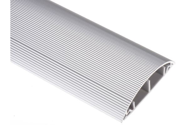 Product image for Aluminium floor surface trunking 70mm