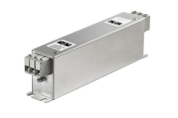 Product image for Schaffner, FN3268 100A 3 x 520/300 V ac 0 → 60Hz, Chassis Mount EMI Filter, Terminal Block 3 Phase