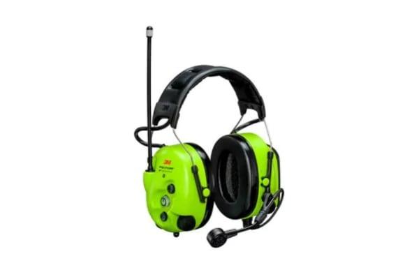 Product image for 3M PELTOR LiteCom PRO III Wireless Speak & Listen Electronic Ear Defenders with Headband, 30dB, Noise Cancelling