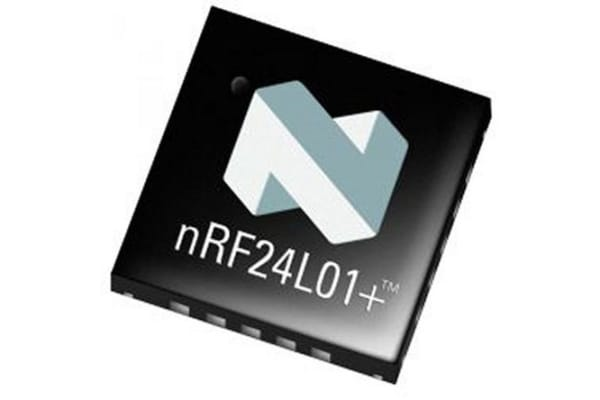 Product image for RF TRANSCEIVER IC 2.4GHZ ISM BAND QFN20