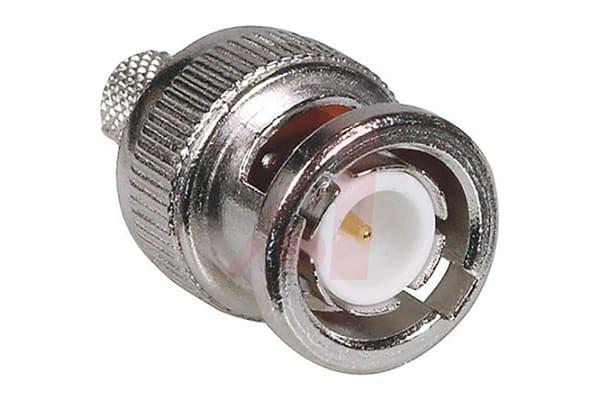 Product image for BNC 3 PIECE CRIMP PLUG RG/U 59/62