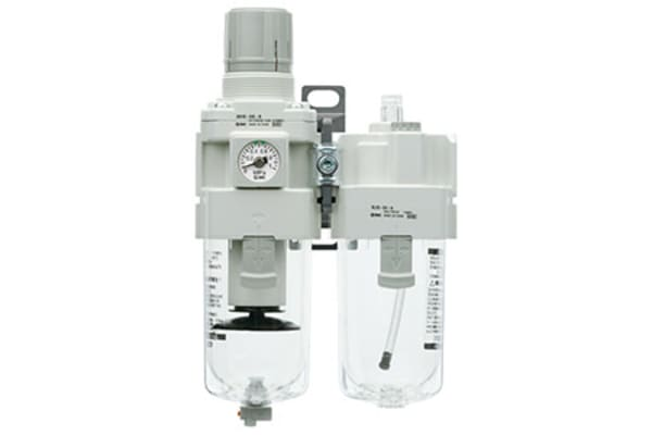 Product image for G1/8 FRL Combination Unit w/Auto Drain