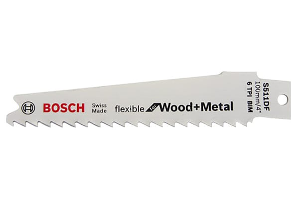 Product image for S511DF SABRE SAW BLADE FOR WOOD & METAL