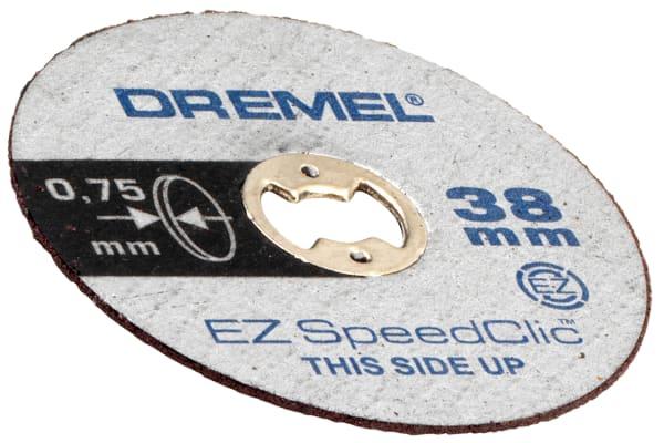 Product image for EZ SPEEDCLIC THIN CUTTING WHEELS 5 PK
