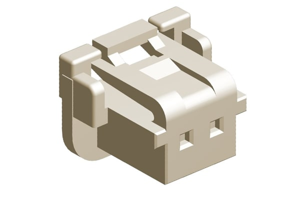 Product image for DURACLIK 2MM RECEPTACLE HOUSING, 2P