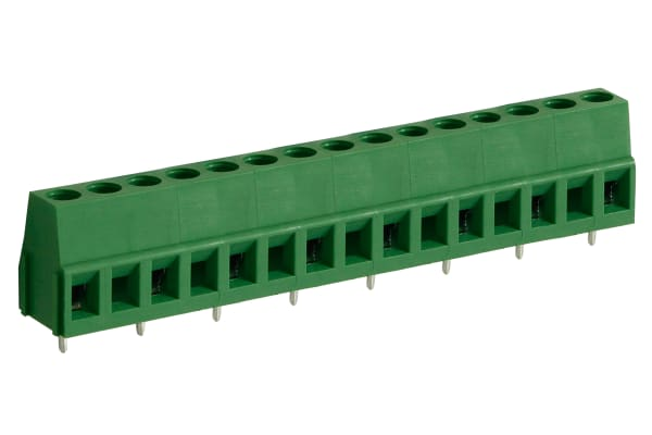 Product image for 10MM PCB TERMINAL BLOCK, STD PROFILE, 8P