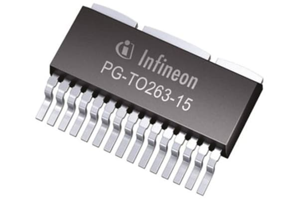 Product image for TrilithIC Motor Driver Quad DMOS TO263
