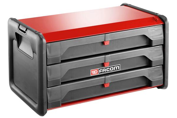 Product image for BI MATERIAL TOOL BOX 3 DRAWERS