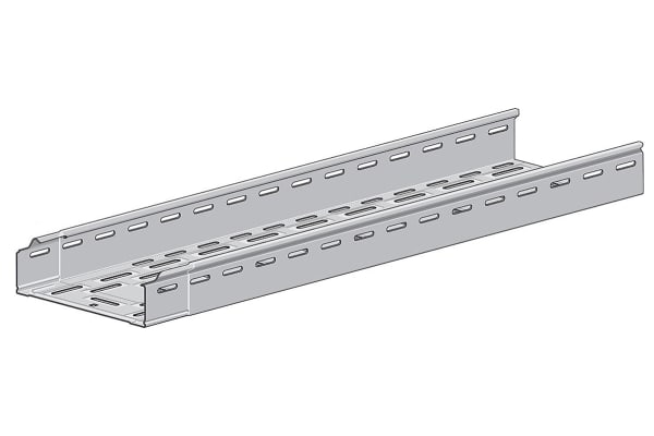 Product image for Cable tray self connecting galv 60x300 3