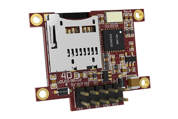 Product image for 0.96IN OLED DISPLAY WITH GOLDELOX