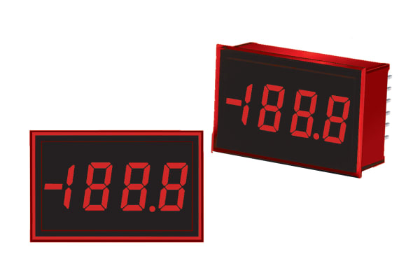 Product image for 3.5 Digit Red LED DC Voltage Monitor