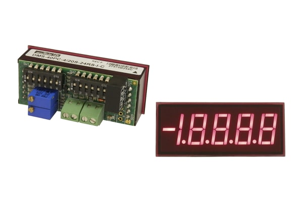 Product image for 4.5 Digit Red LED Process Monitor
