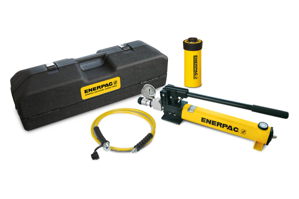 Product image for Enerpac Single, Portable Low Height Hydraulic Cylinder, SCL201H, 20t, 45mm stroke