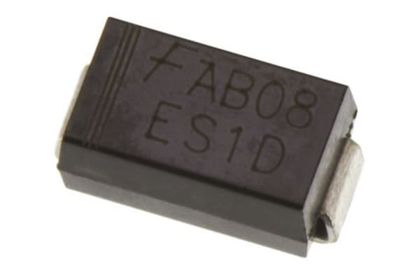 Product image for ON Semiconductor Switching Diode, 1A 600V, 2-Pin DO-214AC S1J