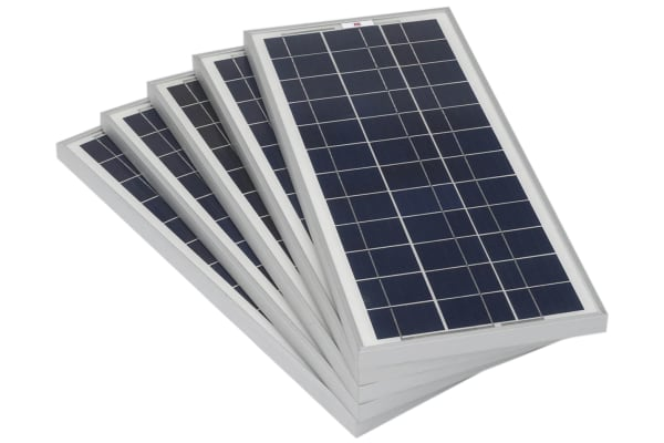 Product image for RS PRO 20W Monocrystalline solar panel