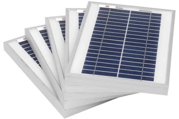 Product image for RS PRO 5W Polycrystalline solar panel