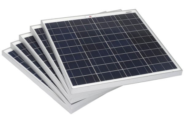 Product image for RS PRO 45W Monocrystalline solar panel