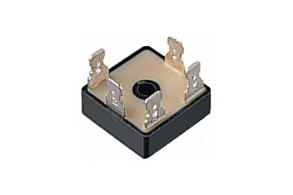 Product image for 3-PH BRIDGE RECT 1200V 12A FAST-ON 29SQ
