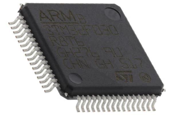 Product image for 32-Bit MCU 128K Flash USB2.0 CAN LQFP64