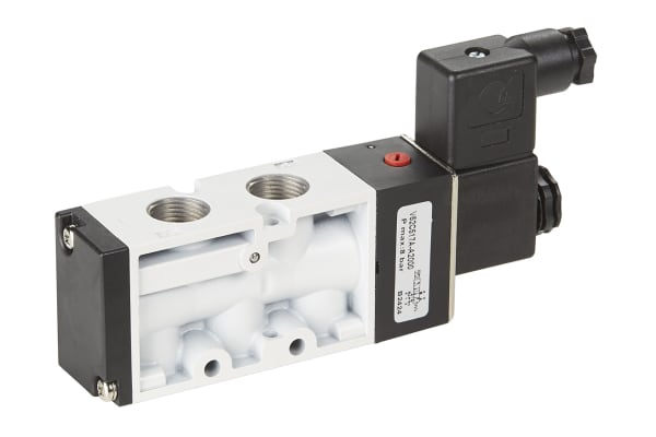 "Product image for 5/2 Solenoid Valve, G1/2"", 24V"