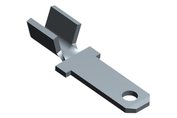 Product image for FASTON 110 crimp tab terminal, 22-18 AWG