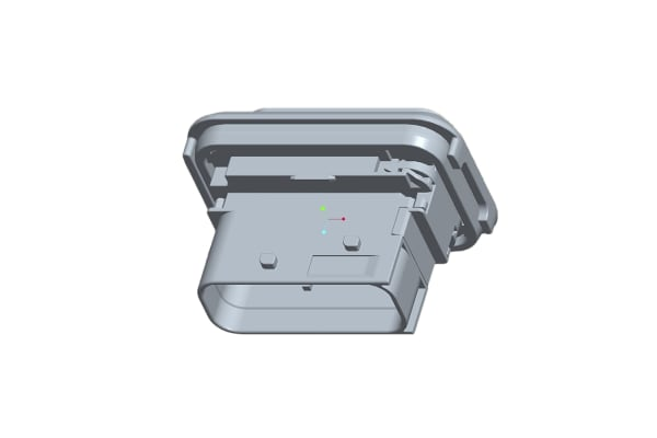 Product image for 16P heavy duty connector housing male