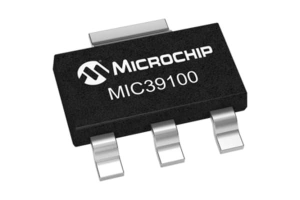 Product image for 1.0A 1.0% FIXED VOLT LDO, MIC39100-3.3WS