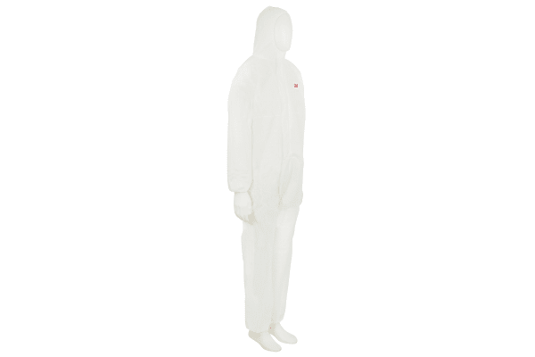 Product image for 4515 white coverall L
